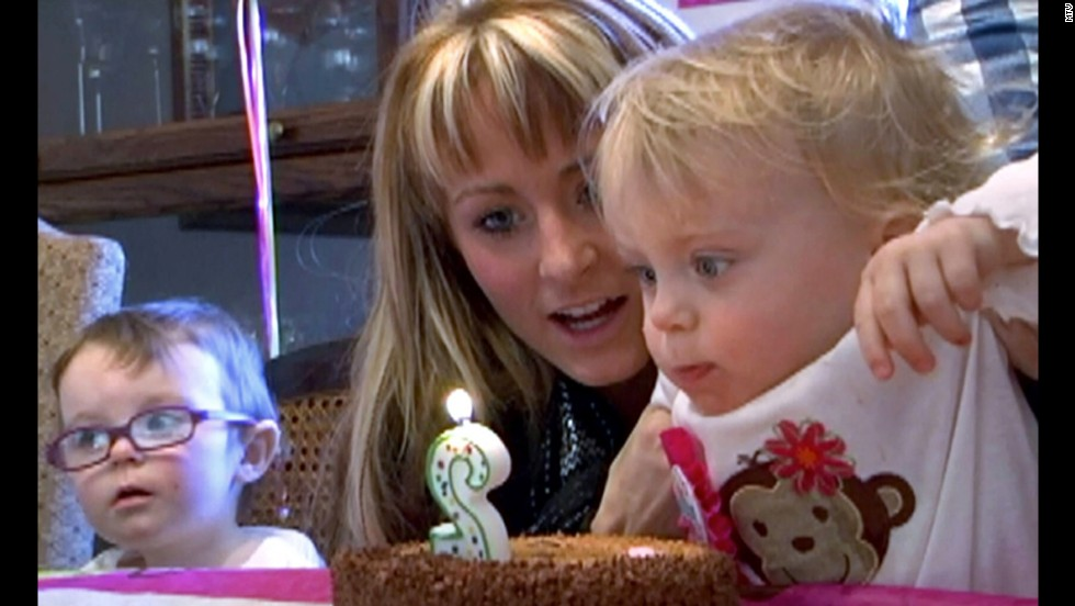 """Leah Calvert and her twins have expanded their family since """"Teen Mom 2."""" The reality star welcomed her third daughter in February, according to <a href=""""http://www.usmagazine.com/celebrity-moms/news/leah-messer-debuts-baby-daughter-addalynn-meet-teen-mom-2s-third-child-2013203"""" target=""""_blank"""">Us Weekly</a>. It's her first child with husband Jeremy Calvert."""