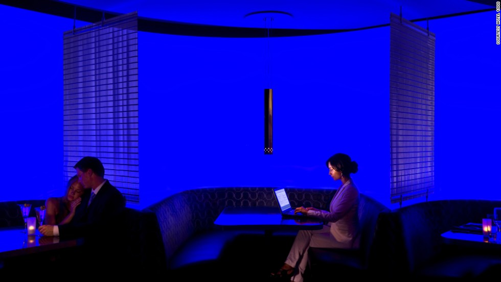 Seattle's Hotel 1000 includes a silent infrared doorbell with sensors that detect body heat (so housekeeping knows when not to interrupt), smart climate control and a 40-inch LCD HDTV that doubles as a digital art gallery.