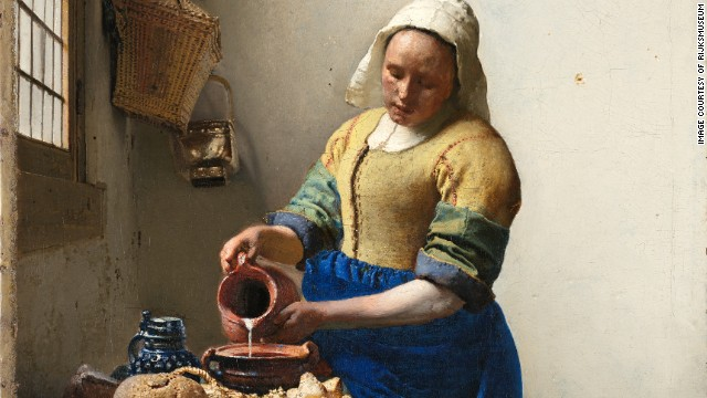 "Johannes Vermeer's ""The Milkmaid,"" expected to be a serious crowd-puller."