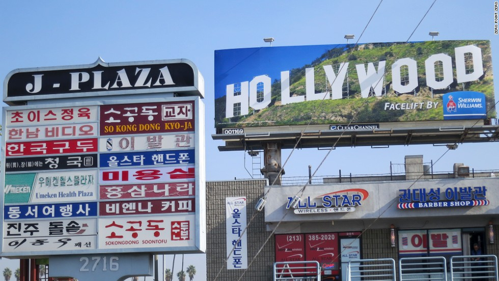 Los Angeles' busy Koreatown is filled with restaurants, markets and strip malls. Bourdain explored the neighborhood in season 1 with chef Roi Choi and artist David Choe.