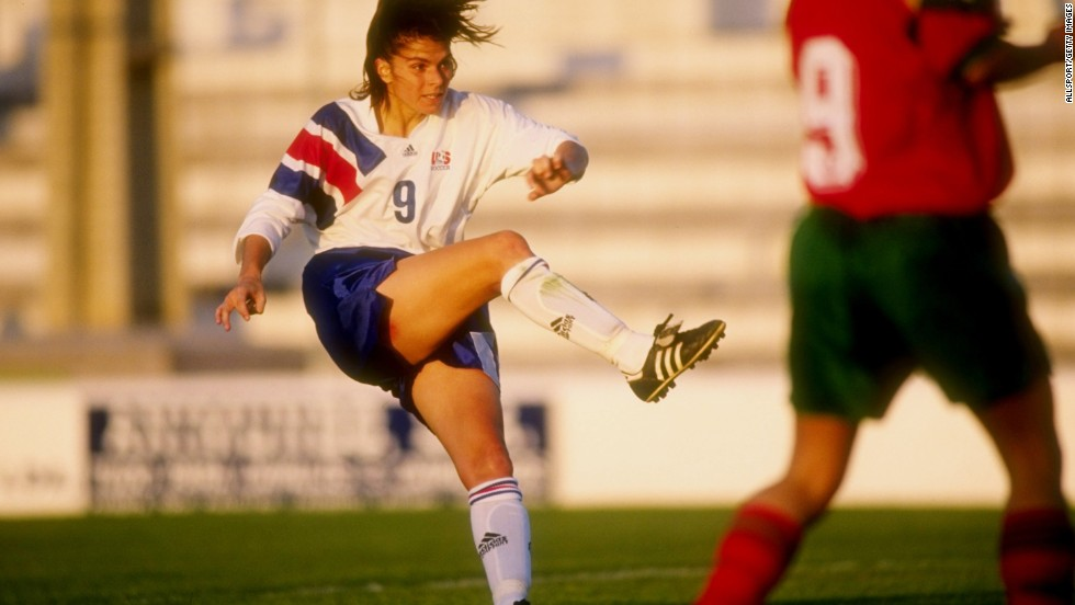 Long before she was one of the most recognizable figures in women's soccer, Mia Hamm was a youth soccer player in Texas and Virginia. After catching coach Anson Dorrance's eye, she was picked for the national team and in 1987 became the youngest American woman, at 15, to take the field for a World Cup. Before retiring in 2004, Hamm racked up four NCAA championships, two World Cup titles and two Olympic gold medals.
