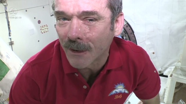 What happens if you cry in space?