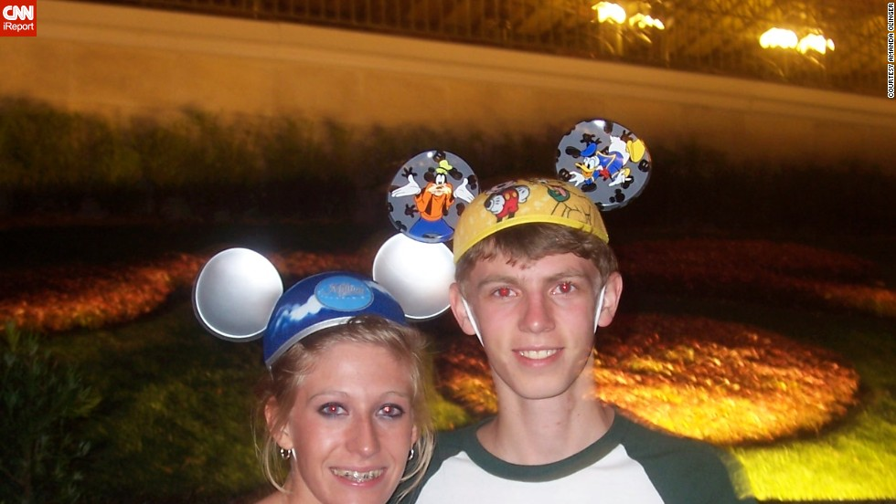 "Amanda Olinger took a trip to Walt Disney World as a high school senior in 2008. It was the park's ""Year of a Million Dreams,"" and Olinger won a <a href=""http://ireport.cnn.com/docs/DOC-954270"">special set of ears</a> as part of that campaign. ""I was 18 and I had never visited before.  When I won those ears, I realized that the magic can happen at any age, and that you are never too old to experience childhood joy."""