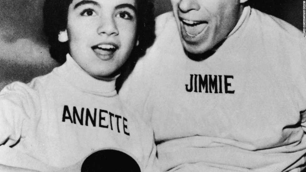 "Actress <a href=""http://www.cnn.com/2013/04/08/showbiz/annette-funicello-obit/index.html"">Annette Funicello</a> died on Monday at age 70. Before her beach party movie fame, she was one of the original members of TV's ""Mickey Mouse Club,"" and defined the term ""Mouseketeer"" long before Britney Spears or Justin Timberlake. She definitely made those mouse ears look cool. They've been a symbol of Disney ever since. In her honor, iReporters told us how much <a href=""http://ireport.cnn.com/topics/953456/featured#stories"">those ears</a>, and the world of Disney, mean to their lives."