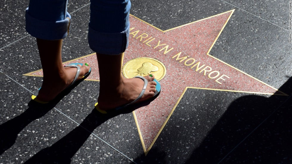 "The <a href=""http://www.walkoffame.com"" target=""_blank"">Hollywood Walk of Fame </a>stretches along Hollywood Boulevard and Vine Street. It features nearly 2,500 stars with about two added each month."