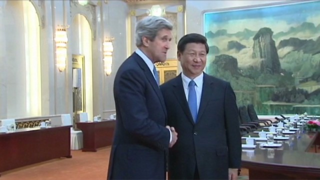 Kerry talks partnership with China