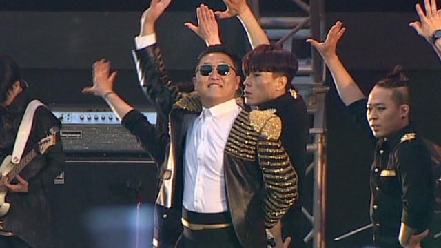 Pop star keeps Koreans' spirits up