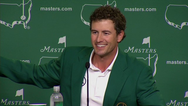 Adam Scott: Masters win was 'my destiny'