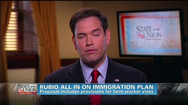 Rubio all in on immigration plan