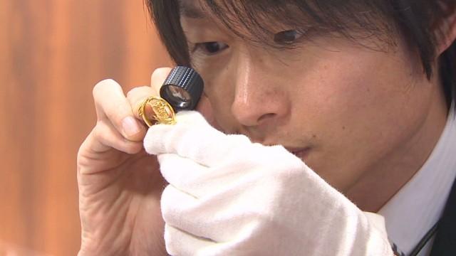 Weak yen drives gold rush in Japan