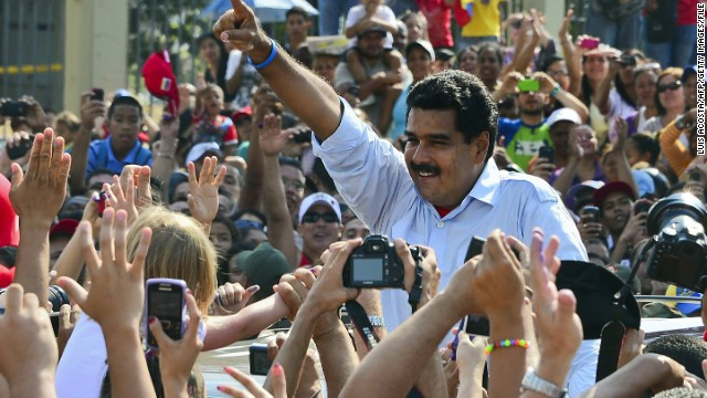 Maduro wins Venezuelan election