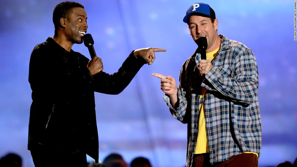 "The 2013 MTV Movie Awards came early this year, but Sunday night's show wasn't short on memorable moments. First up on the list? <a href=""http://www.mtv.com/videos/misc/898698/wtf-experts-chris-rock-and-adam-sandler-present-best-wtf-moment.jhtml"" target=""_blank"">Chris Rock and Adam Sandler present the ""Best WTF Moment"" award</a>. Half of the segment was bleeped, with Rock keeping censors on their toes by appearing to say something off the cuff at the end."