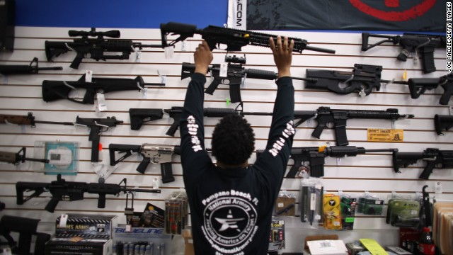 A compromise amendment on background checks comes up this week in the Senate.