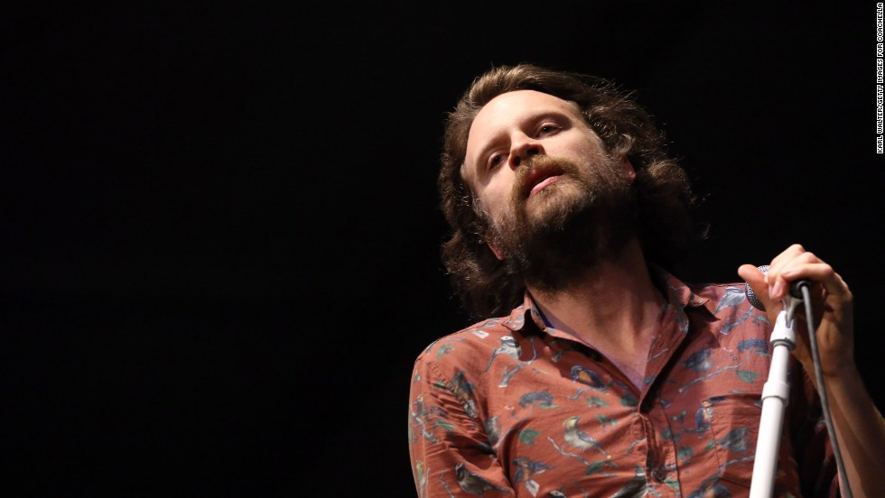J Tillman of Father John Misty performs on April 14.
