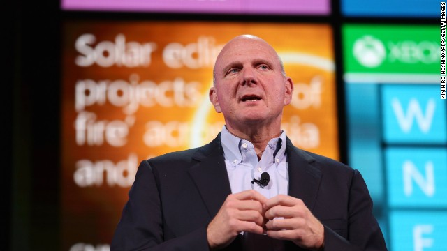 Microsoft and CEO Steve Ballmer are working hard to boost their mobile offerings. Could a smartwatch be next?