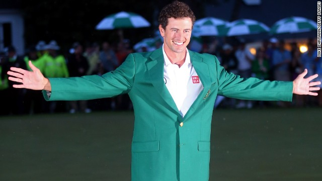 Adam Scott became his country's first Masters champion with his playoff win at Augusta.