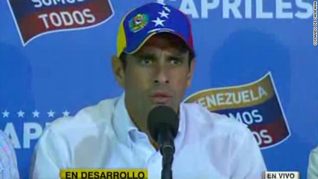 henrique capriles dia despues