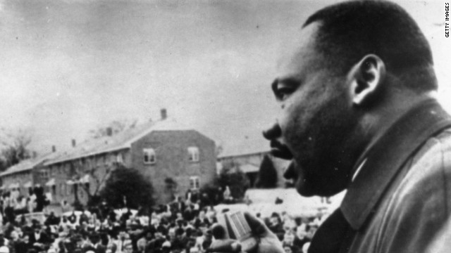 "King, speaking here in Selma, Alabama, was a ""furious truth-teller"" in his most famous letter, scholars say."