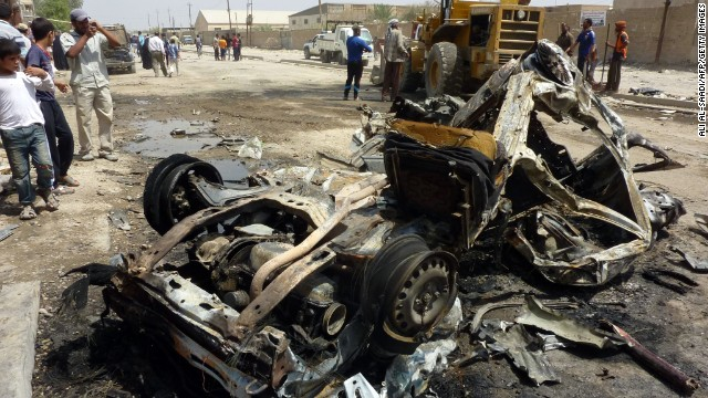 Deadly wave of bombings across Iraq
