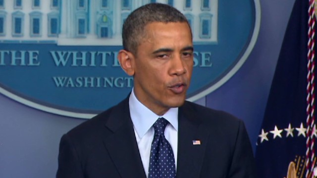 Obama statement on Boston terror attack