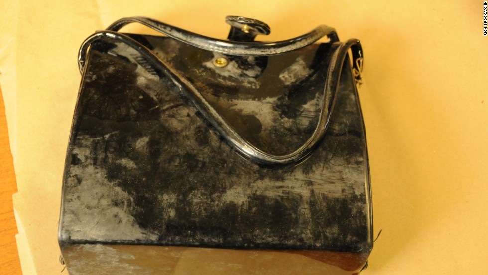 "Searchers also found this patent leather handbag, which belonged to Garza. ""It started escalating, knowing that when they found these things, something was definitely wrong,"" remembered Garza's cousin, Lynda de la Vina, who was 9 at the time."