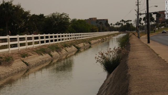 Garza's body and key evidence were found in this canal.