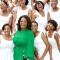 Oprah WInfrey in her school