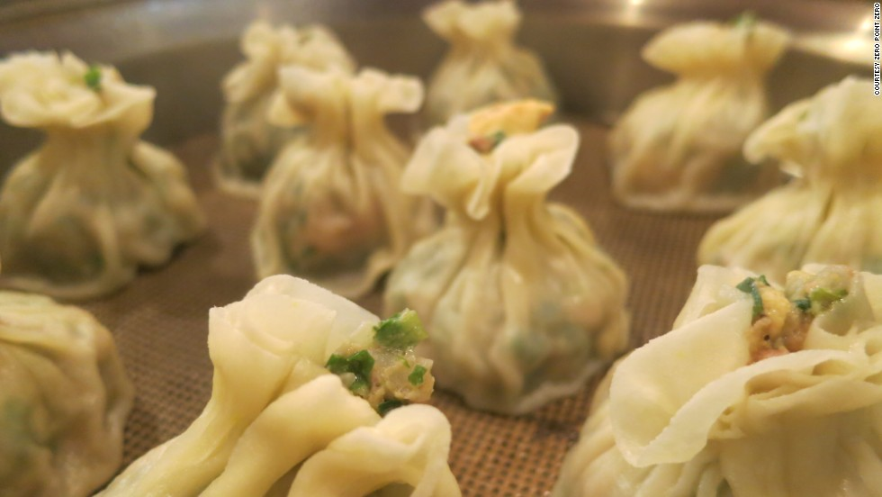 There's nothing wrong with wrapping meat up into tasty packages. The siu mai at Myung In Dumplings in L.A.'s Koreatown are a prime example.