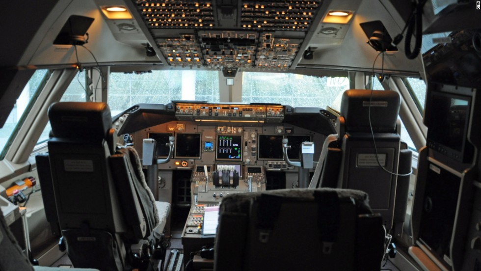 Though the cockpit has been upgraded, it's based on the same technology used in the Boeing 747-400 and 787. This means existing flight simulators can be used and conversion training is minimized. Ailerons (hinged surfaces used to control lateral balance) and flaps on the wings are operated by fly-by-wire technology.