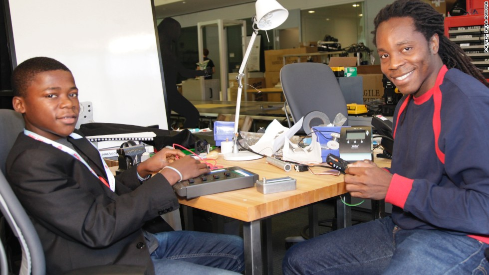One of the young students Sengeh mentors through this initiative is Kelvin Doe, a 15-year-old Sierra Leonean who created a radio station from scraps. Sengeh brought Doe to present his inventions at MIT, making him the youngest ever person to be invited to MIT's Visiting Practitioners Program.