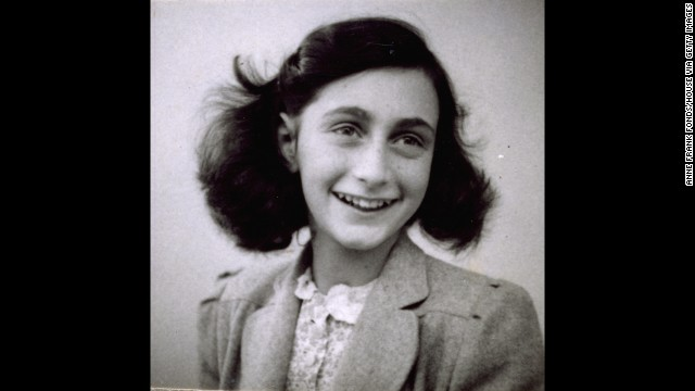 Anne Frank and her family hid in a house for two years before being found by Nazis.