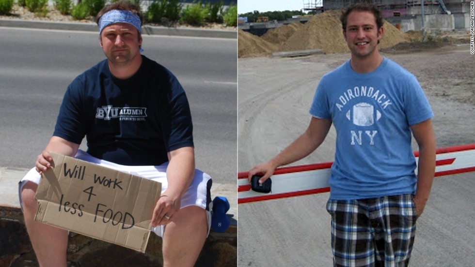 "Jordan Teuscher convinced his whole family to join the HealthyWage challenge. They lost a combined 255 pounds and <a href=""http://www.cnn.com/2013/04/19/health/cash-family-weight-loss/index.html"">won $10,000</a>."