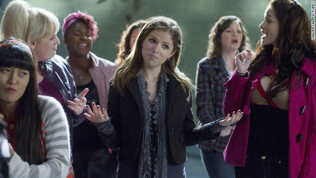"Anna Kendrick returns to make sweet music in ""Pitch Perfect 2."""
