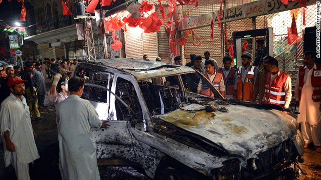 Bombing in Pakistan targets anti-Taliban