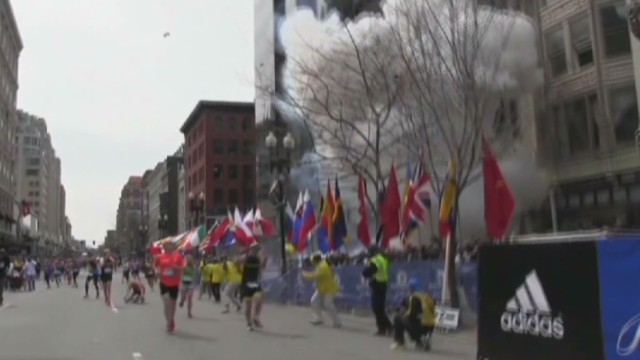 Tracking suspects in the Boston bombings