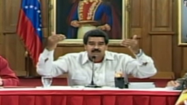cnnee sot venezuela maduro reacts kerry_00003927.jpg