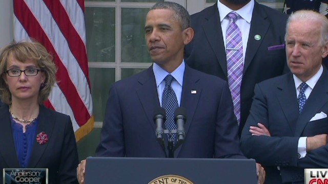 Pres. Obama on background check rejection