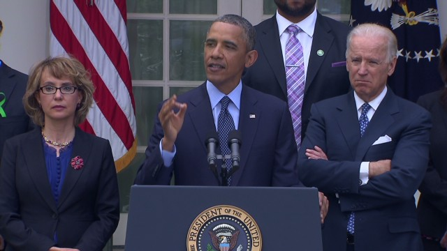 Obama angry about gun bill failure