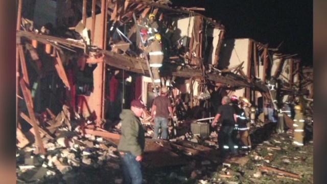 Plant explosion devastates Texas town