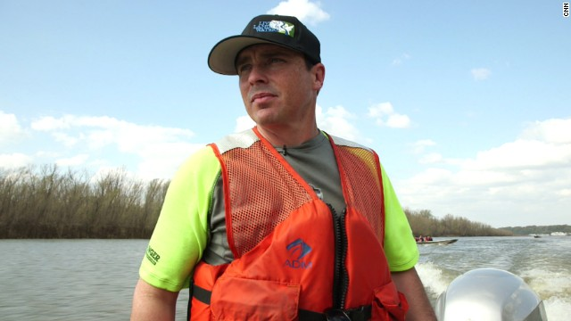 Growing up, Chad Pregracke was sick of seeing trash in the Mississippi River.