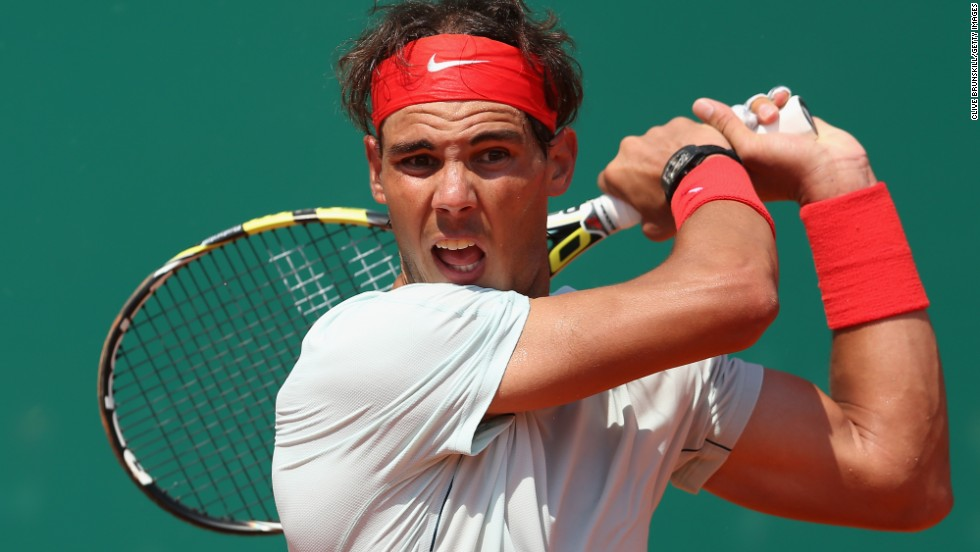 Rafael Nadal stayed on course for a record-extending ninth consecutive title at the Monte Carlo Masters after beating Philipp Kohlschreiber of Germany in the third round.