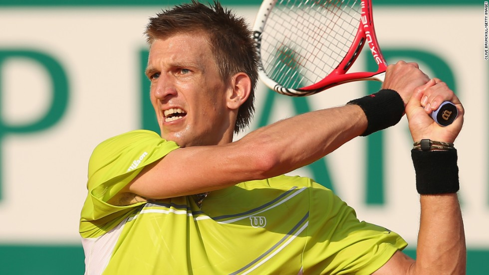 Jarkko Nieminen reached the last eight of a Masters event for the first time since 2006 as the 31-year-old Finn  upset Argentine fifth seed Juan Martin Del Potro.