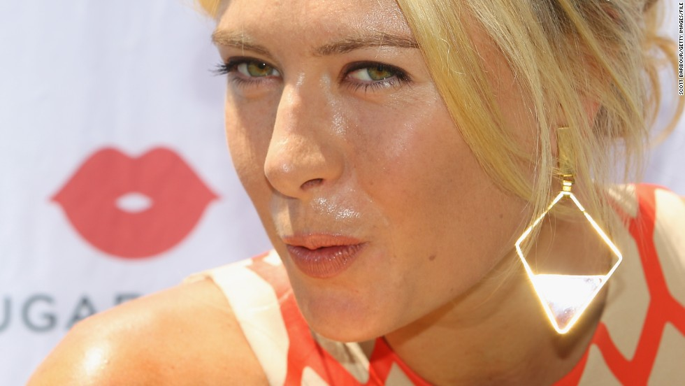 Maria Sharapova has capitalized on her on-court success by becoming one of tennis' most successful brands.