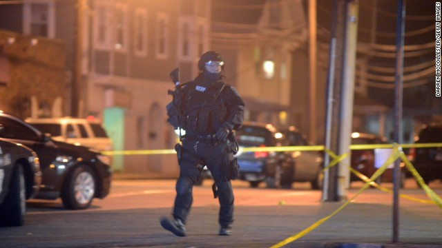 Witness: We heard explosions, gunshots