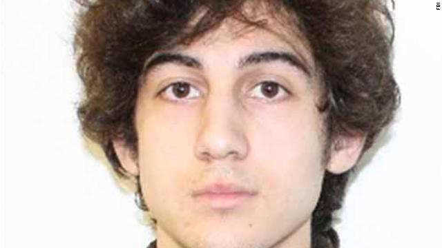 Boston Police released this photo of Dzhokhar Tsarnaev, 19, of Cambridge, Massachusetts on Friday, April 19. He and his brother, who was killed after a shootout early Friday morning, are suspects in the Boston Marathon attack that took place on Monday, April 15.