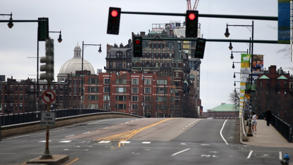 The Harvard Bridge, known locally as the Massachusetts Avenue Bridge