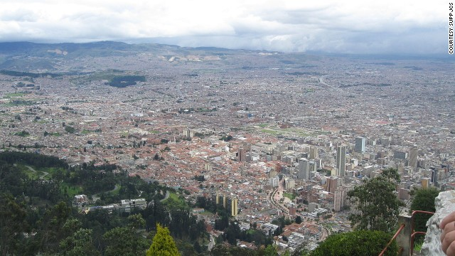 From the summit of Monserrate, Bogota's vast gray and red concrete expanse absorbs the green valley that frames it -- the sight puts the sprawling proportion of this mega-city into perspective. Monserrate can be reached via an aerial tramway, funicular or by climbing.