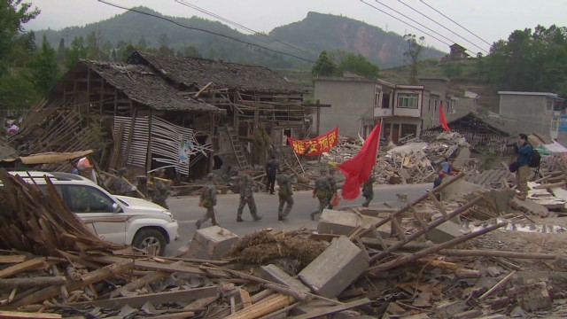 Quake survivors need basic necessities