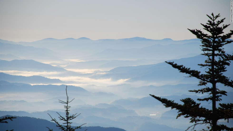 The  National Park Service has 401 areas covering more than 84 million acres in all 50 states, the District of Columbia, American Samoa, Guam, Puerto Rico, and the U.S. Virgin Islands. And most don't require reservations way in advance. Shown here is Great Smoky Mountains National Park, which is in North Carolina and Tennessee.