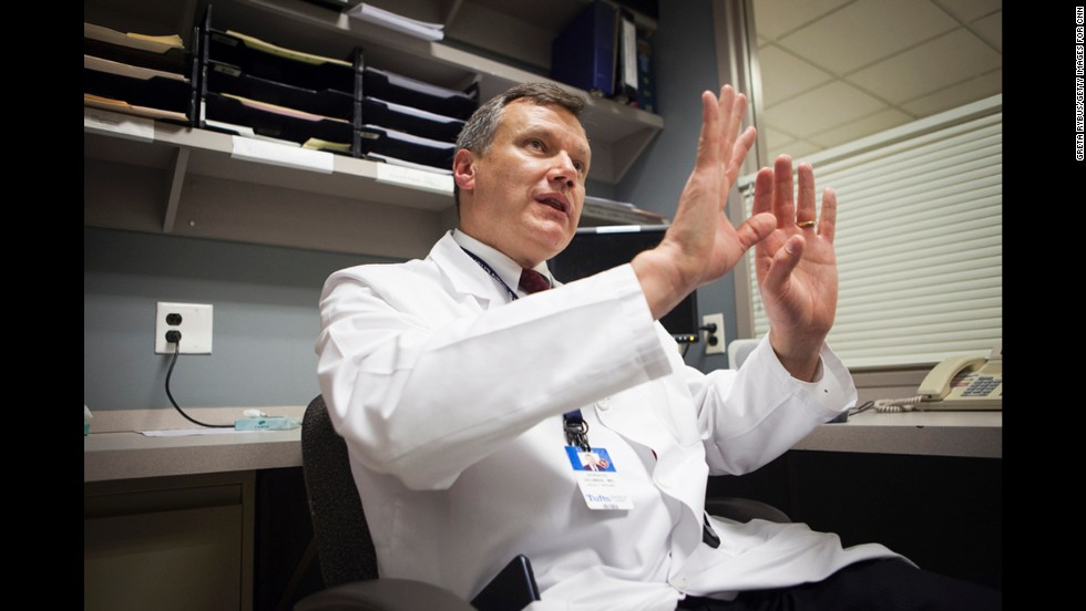 Dr. Horacio Hojman, surgical director of the intensive care unit at Tufts Medical Center, was called into surgery the day of the bombings.
